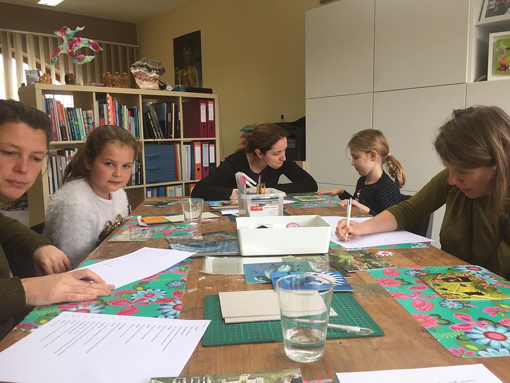 katelijn vanacker workshop mecards ouder kind okt17