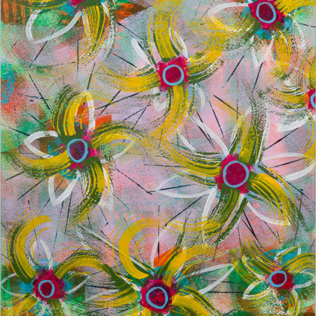 katelijn vanacker art Holiday Flowers