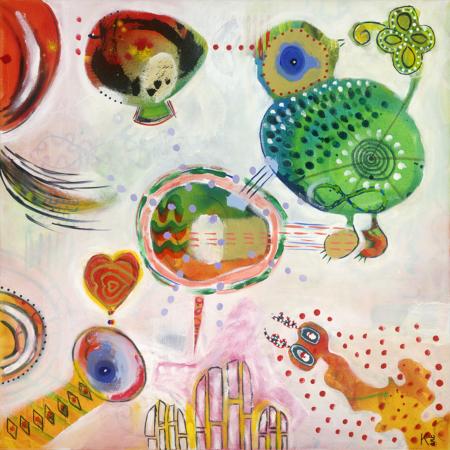 katelijn vanacker art Sing your song
